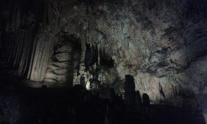 en las cuevas de Nerja